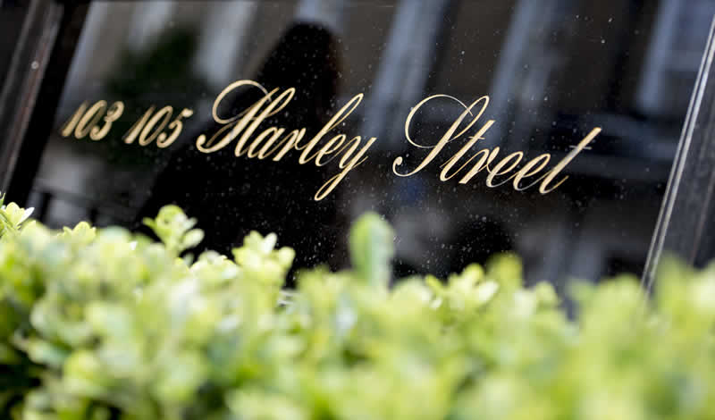 Harley Street Entrance